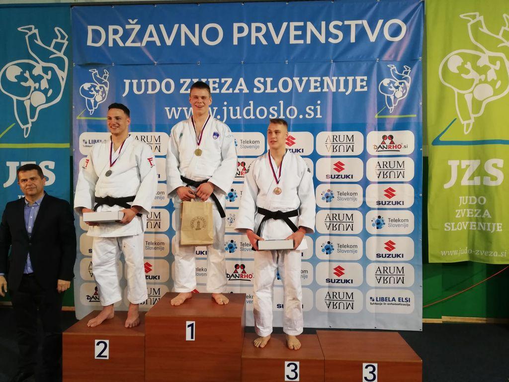 Rok Pogorevc - državni prvak do 100 kg