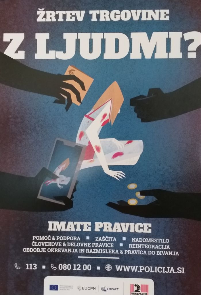 Žrtev trgovine z ljudmi?