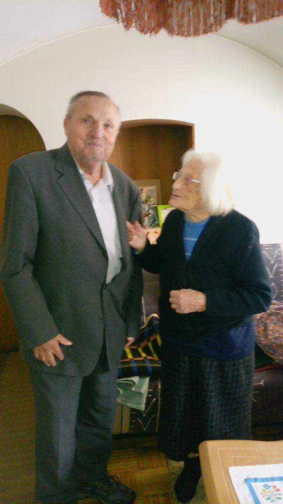 Predsednik DU Logatec g.Puc z g. Pavlo Sartori