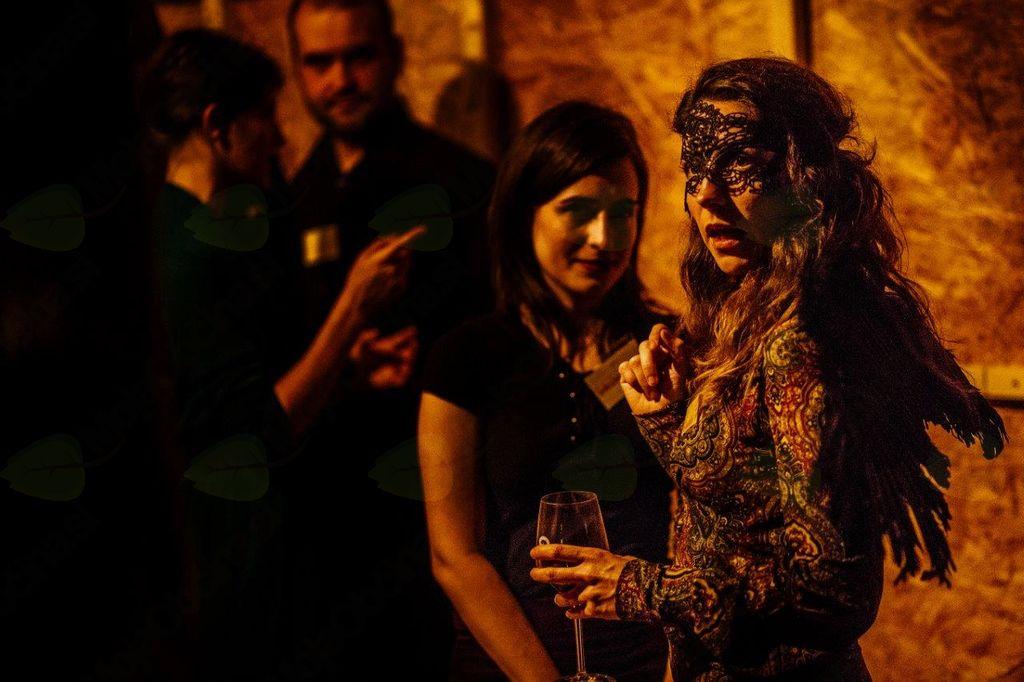 Obiskovalke Halloween festivala