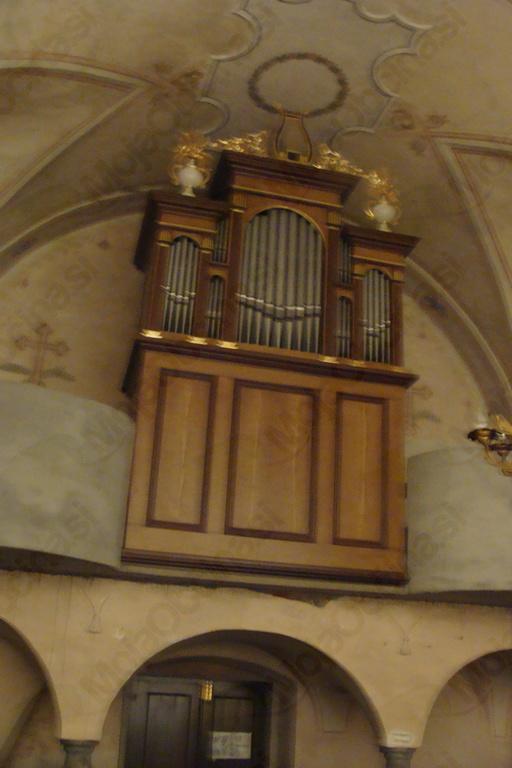 Obnovljene orgle v cerkvi sv. Roka na Selah (Foto Igor Hovnik)
