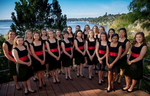 Koncert glasbenih in vokalnih skupin dekliške metodistične višje šole (MLC) Perth iz Avstralije