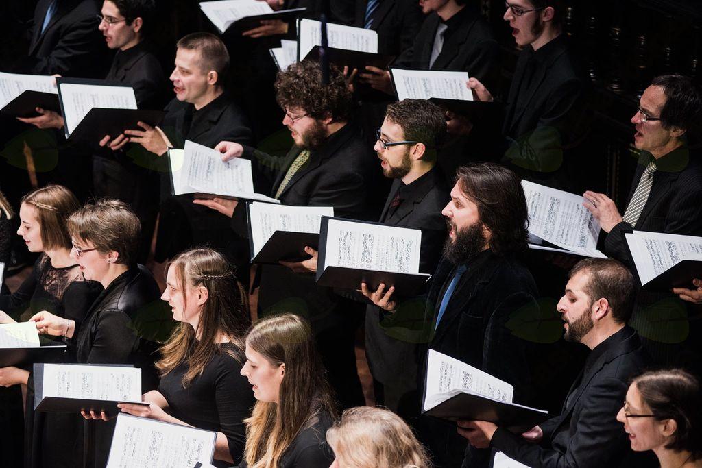 Koncert pevskega zbora Oddelka za cerkveno glasbo iz Budimpešte