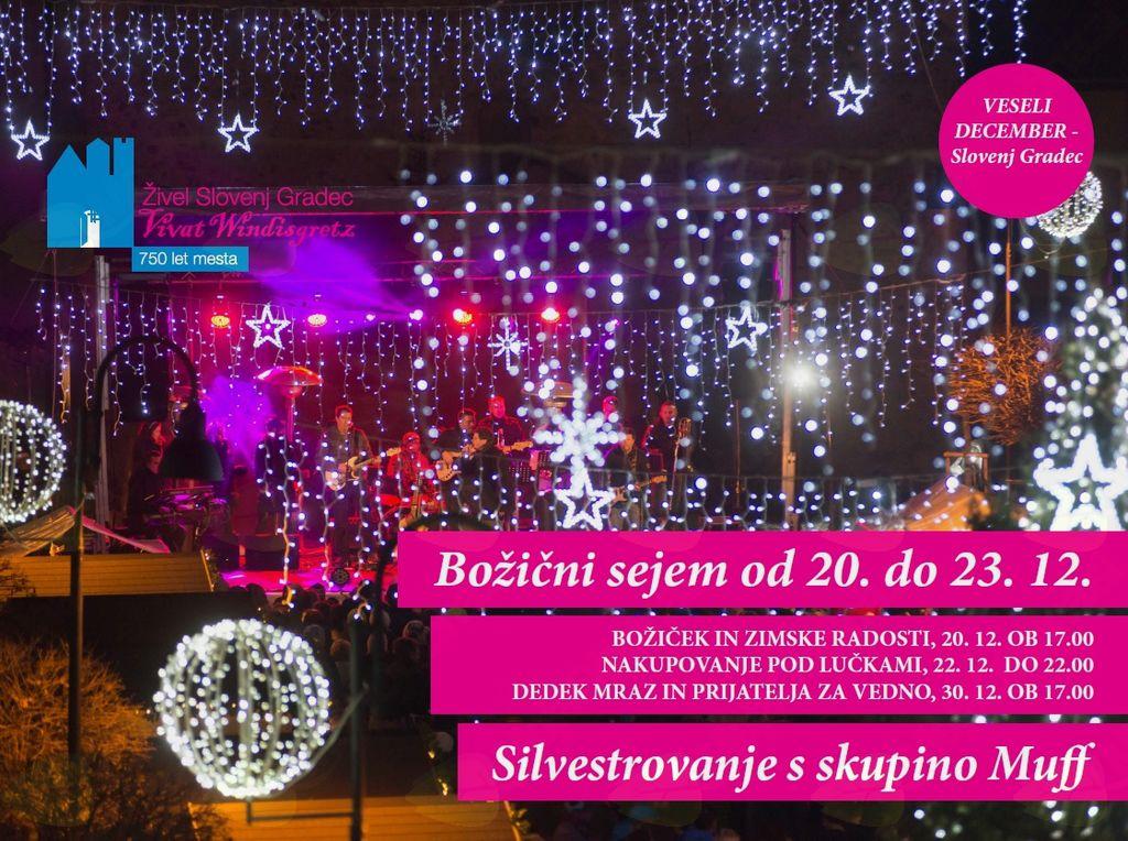 Praznični december v Slovenj Gradcu