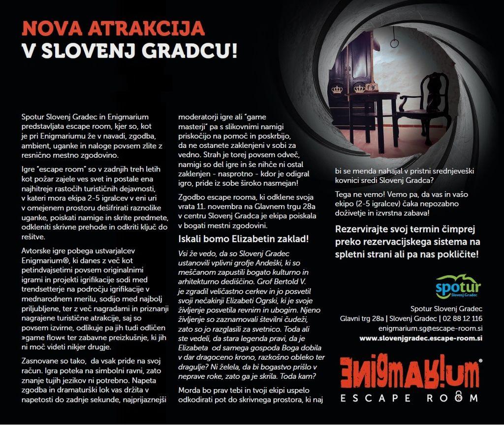 Team building v Escape room-u Slovenj Gradec