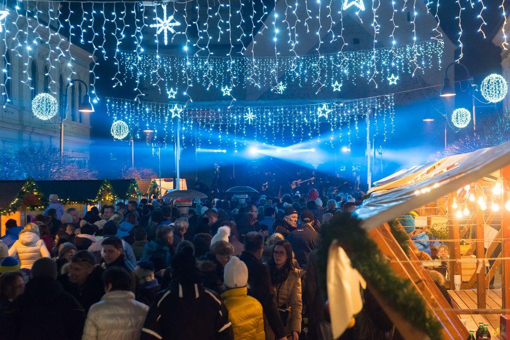 Božično-novoletni sejem v Slovenj Gradcu