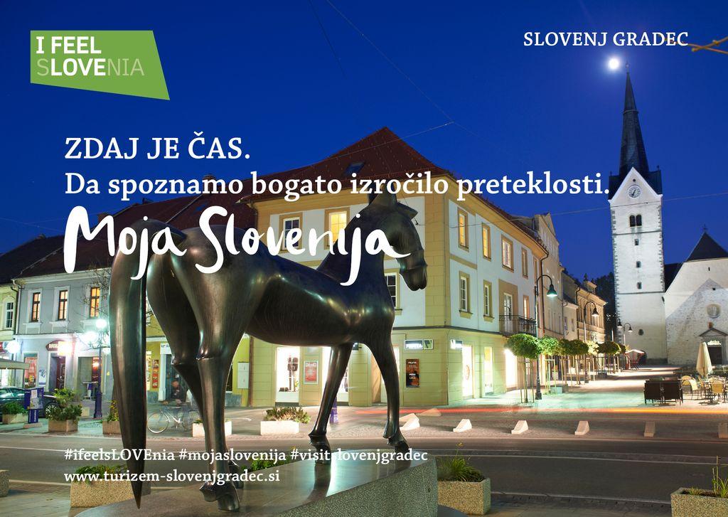 Srednjeveško mestno jedro Slovenj Gradca, avtor Tomo Jeseničnik