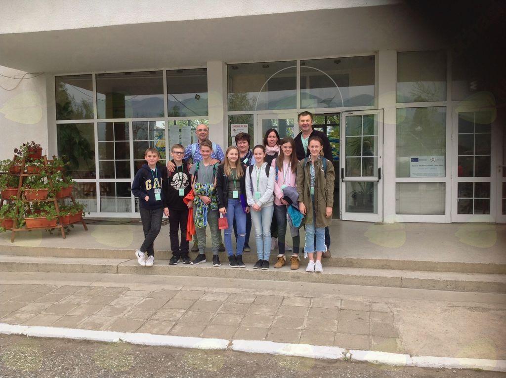 OŠ Komenda Moste Erasmus team