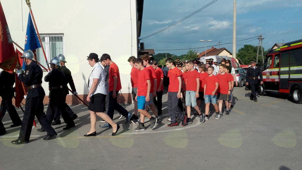 Mladina PGD Vnanje Gorice sodelovala pri 120 letnici gasilskega društva