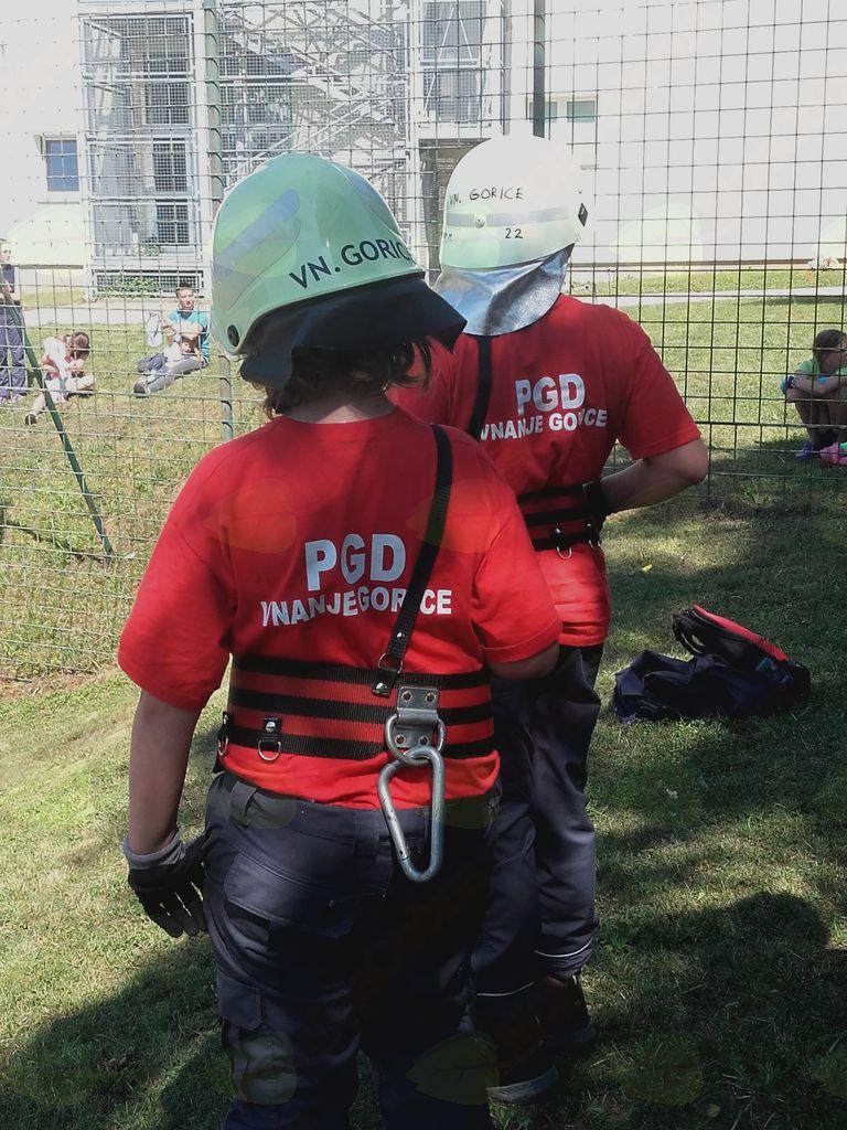 Mladi gasilci PGD Vnanje Gorice vabijo nove člane