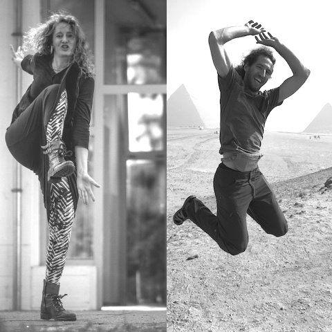 Plesna delavnica: 5 Ritmov z Martino Motl in Anžetom Bertoncljem