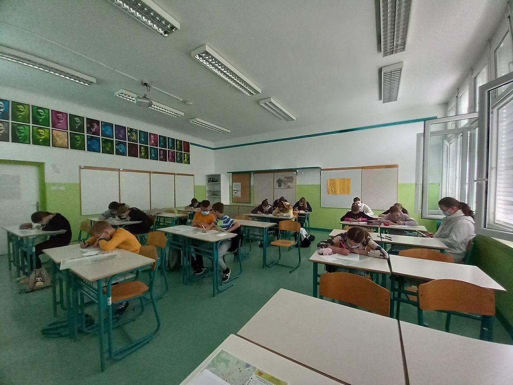Osnovnošolci in urbanizem Logatca