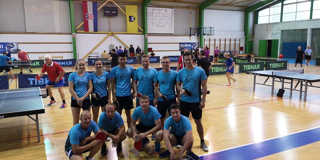 Igralci NTK Cirkovce na »41. turnirju Plaža«