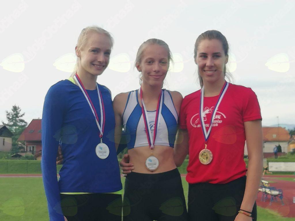 6 medalj na PS za starejše mladince in mladinke v atletiki