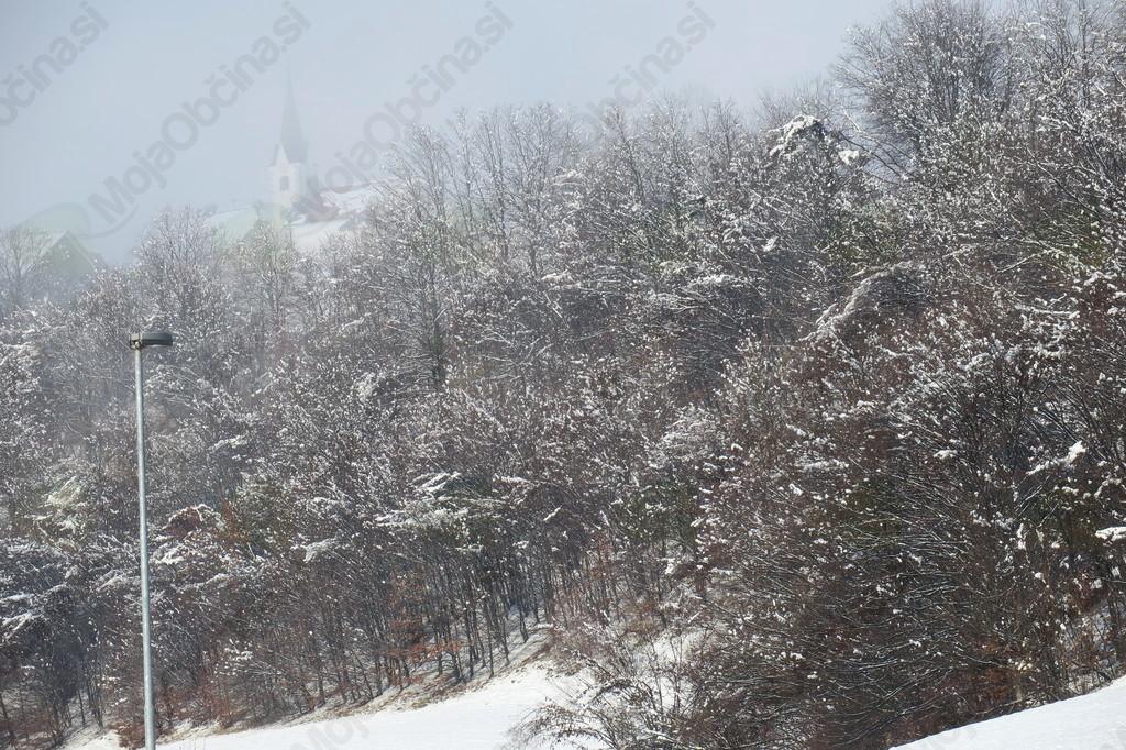 Zapadel je prvi sneg