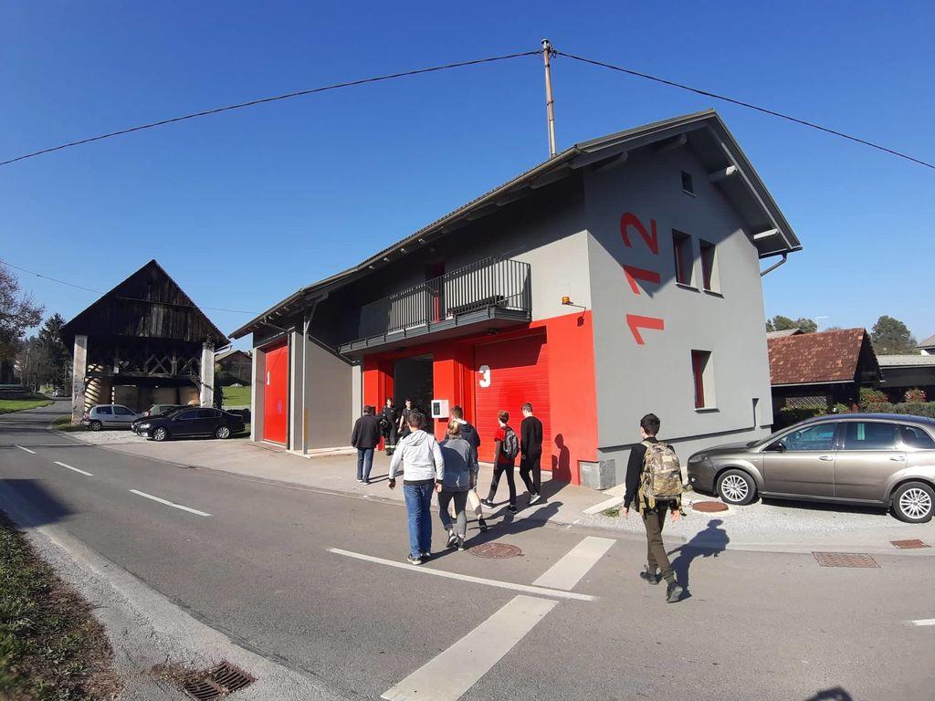 Strokovna ekskurzija mladine PGD Vnanje Gorice na Staro Vrhniko
