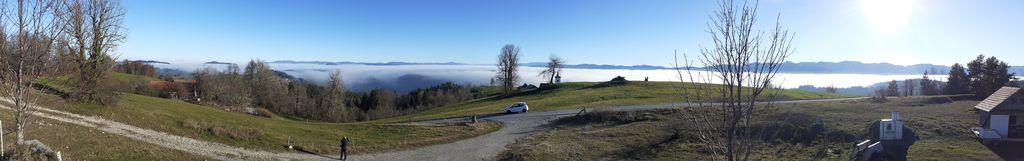 panorama proti jugu