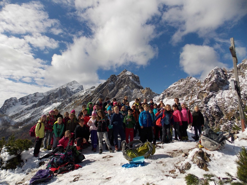 Prvi planinski pohod na Visoki Mavrinc