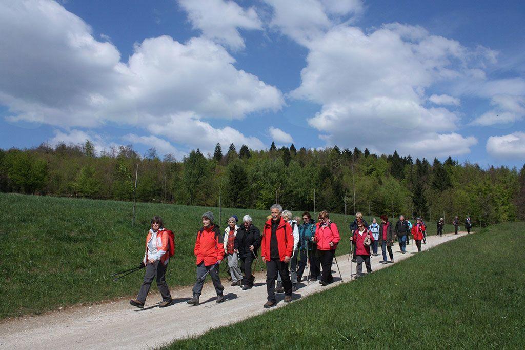 Med Pristavo in Polževim smo uživali v lagodni poti in sončnem vremenu