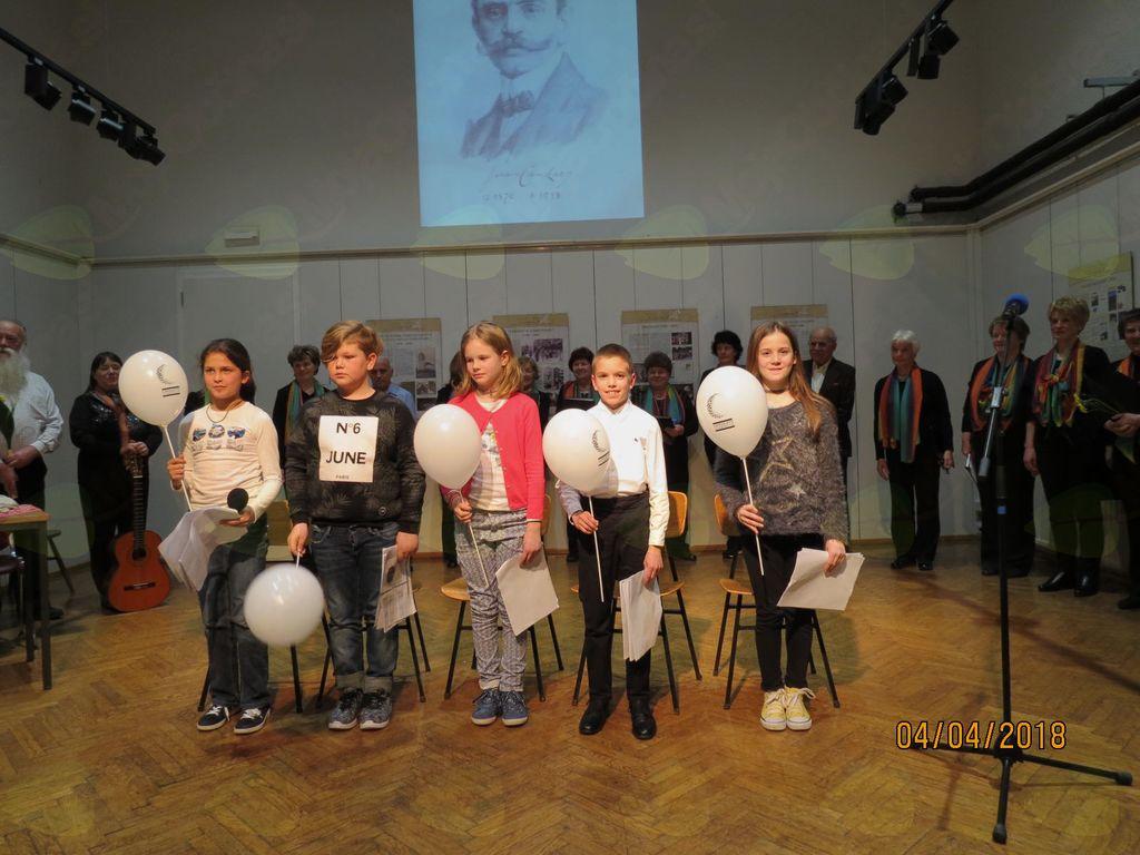 Recital umetniške besede Ivana Cankarja