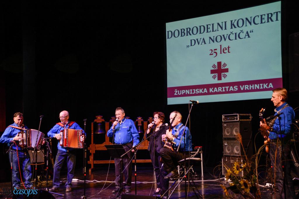Glasbeniki podprli dobrodelnost