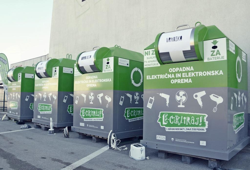 Zabojniki za elektroniko tudi v Borovnici