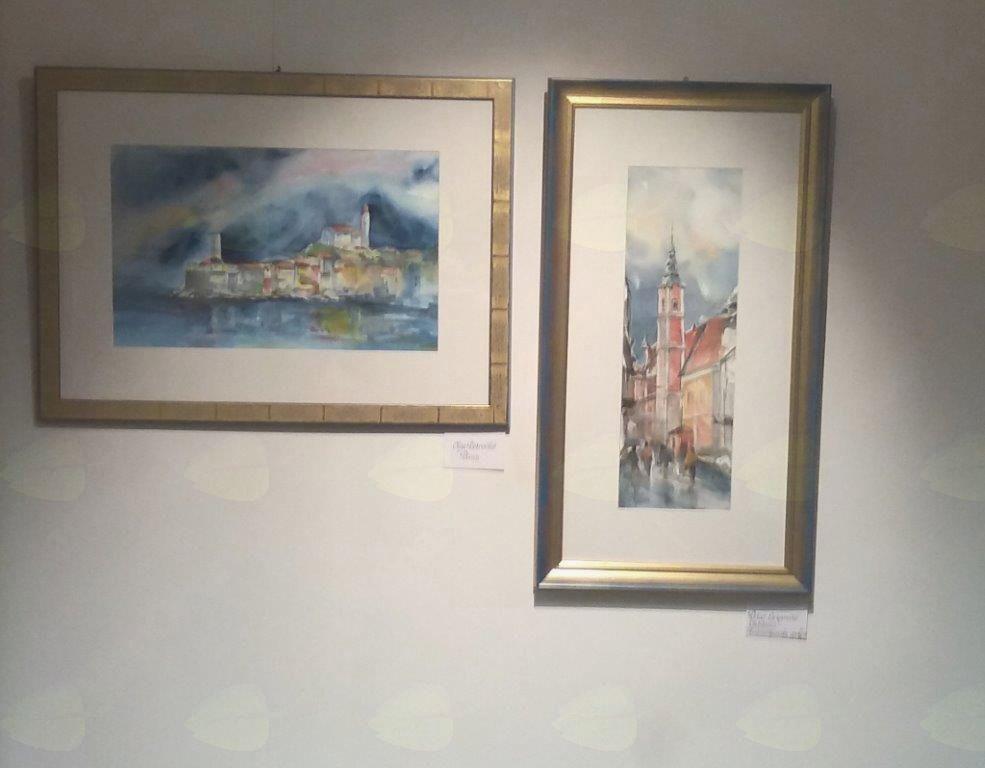 Akvarelisti razstavljajo na Dunaju