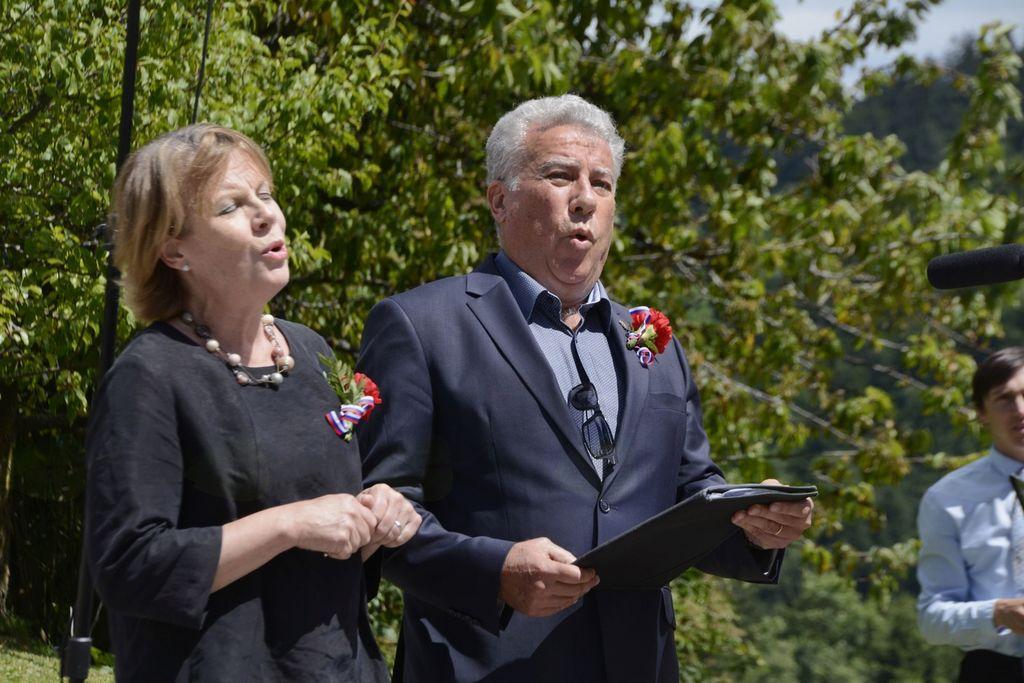 Marcos Fink in Bernarda Fink Inzko