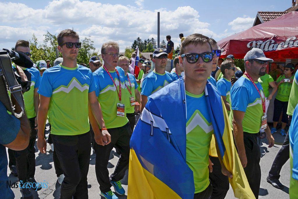 Na Drenovem Griču sprejeli olimpijce