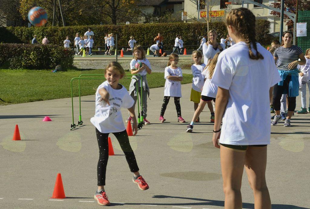 Mini olimpijada za osnovnošolce