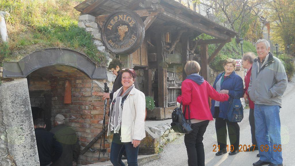 Upokojenci z Vrzdenca obiskali Bizeljsko