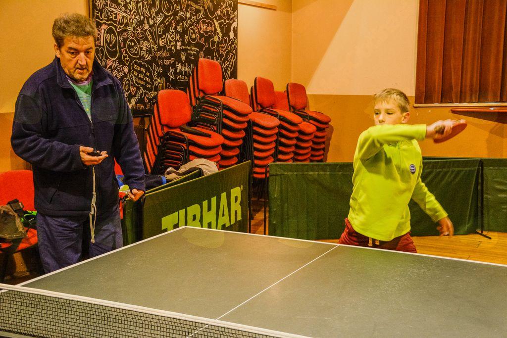 V Šentjoštu obvladajo namizni tenis