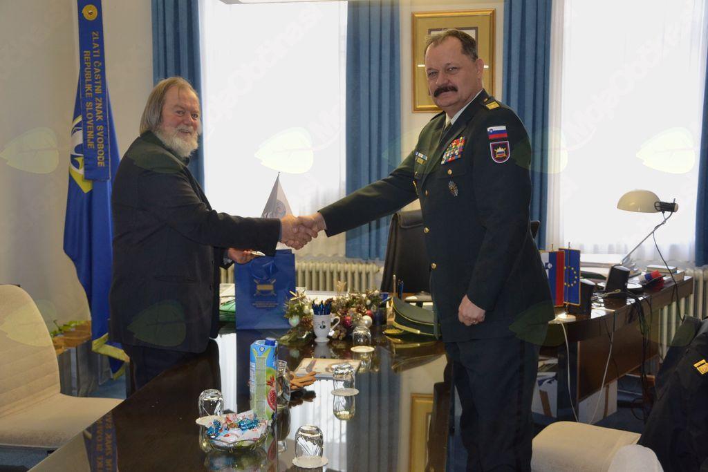 Srečanje s predstavniki Slovenske vojske
