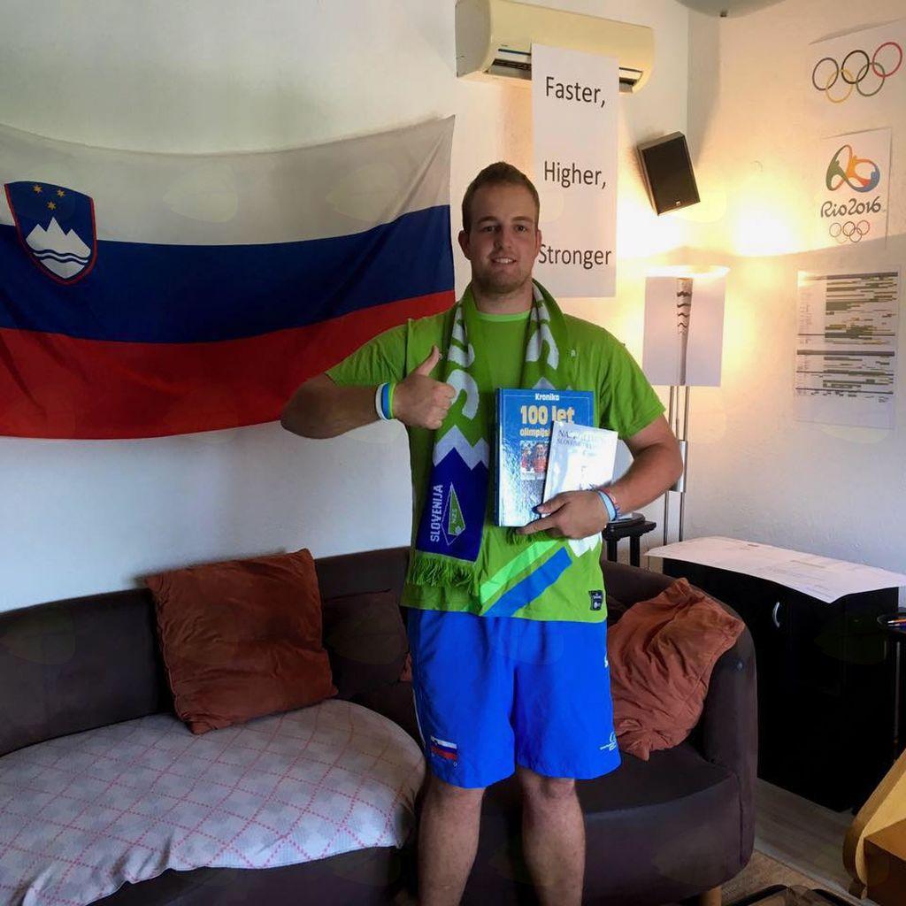 Vrhničan na olimpijskih igrah