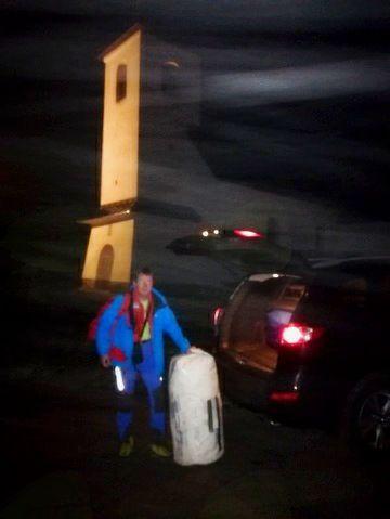 29. januarja zjutraj - ob odhodu iz Zabočevega.