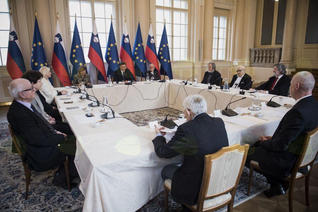 Predsednik Borut Pahor sklical sejo Častnega odbora za počastitev 100. obletnice smrti Ivana Cankarja