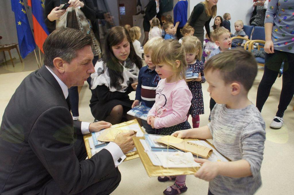 Prešerno s predsednikom Pahorjem