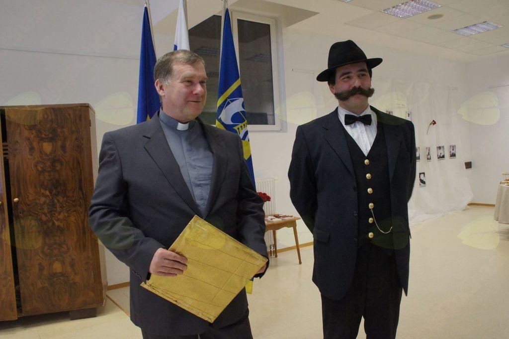 Bivši vrhniški župnik Blaž Gregorc in
