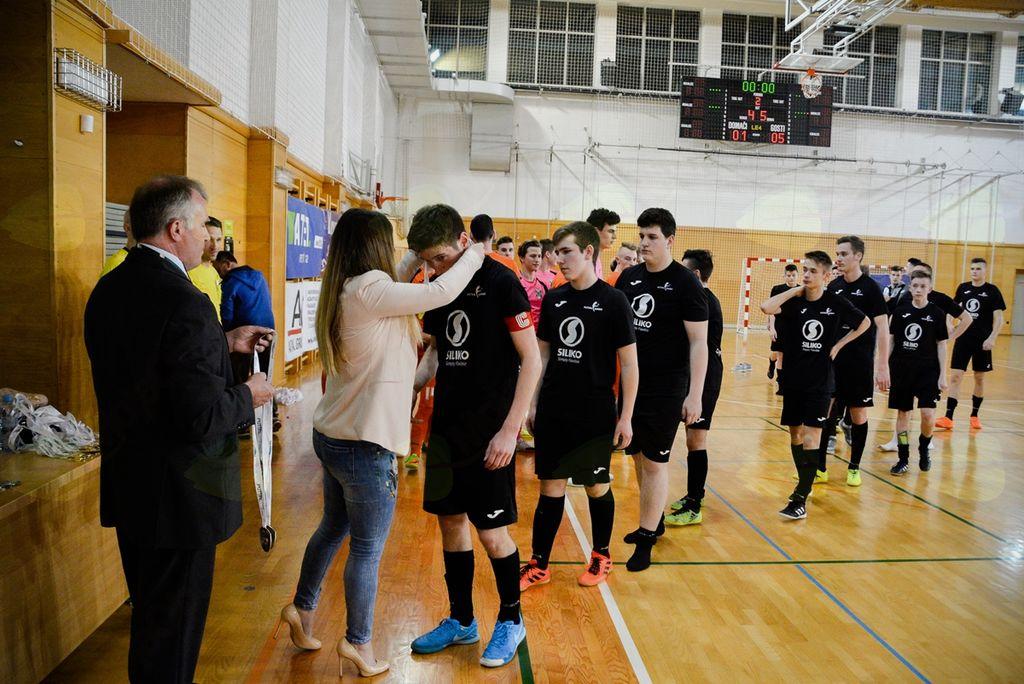 Vrhniška futsal ekipa postala državna vice prvakinja