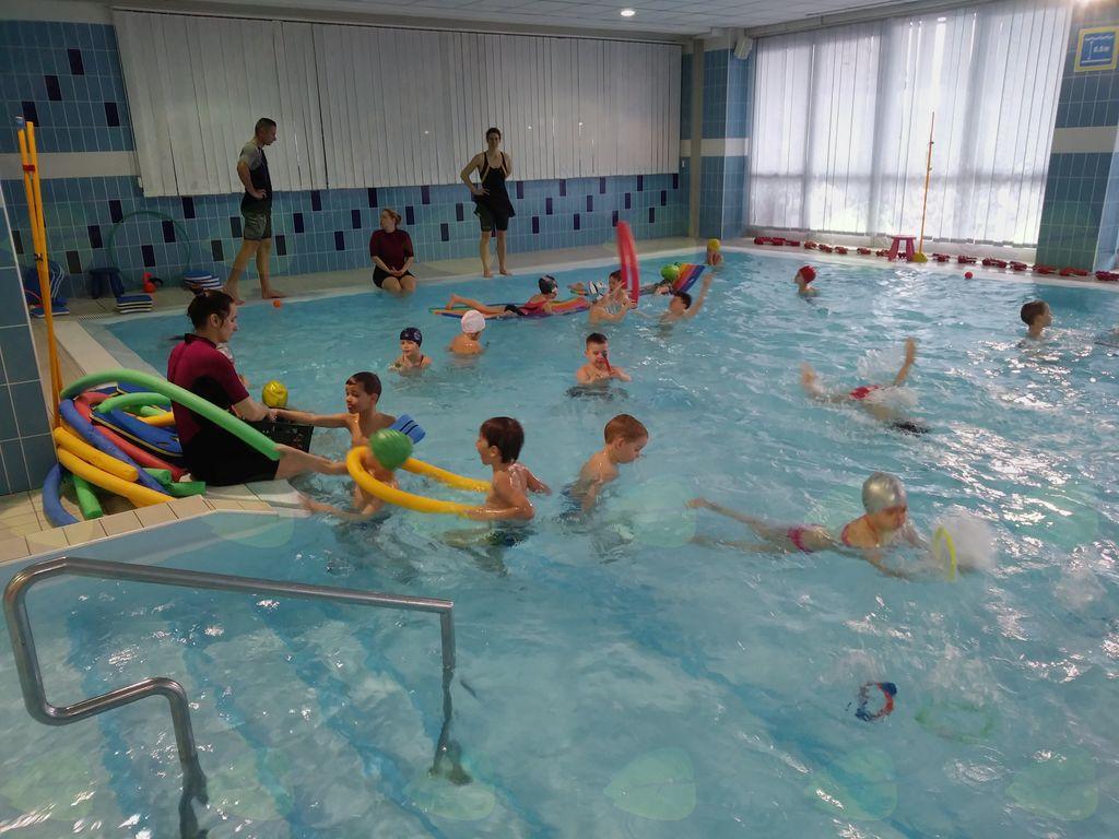 Plavalni tečaj otrok iz vrtca Borovnica