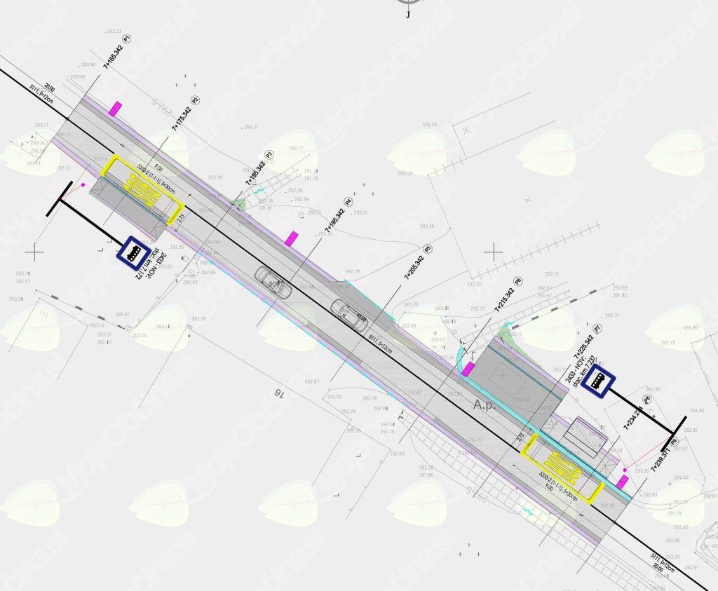 Prometna ureditev, avgust 2017, izvedbeni načrt.
