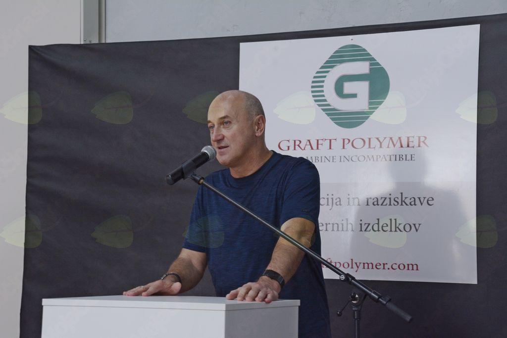 V Borovnici odprli Graft Polymer