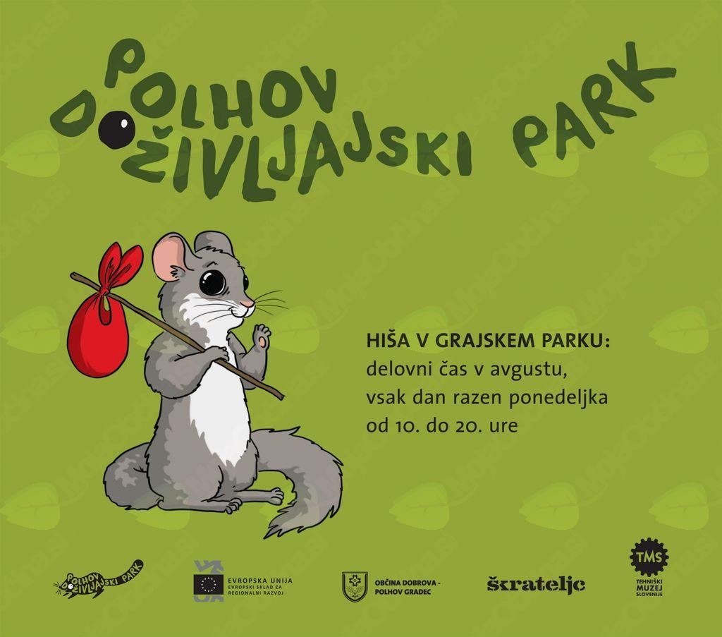 Polhov doživljajski park bo avgusta odprt tudi v dopoldanskem času
