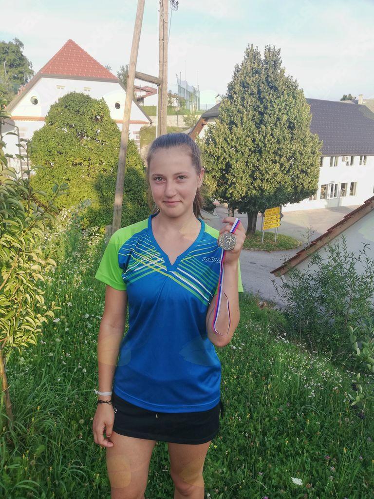 Bronasta državna prvakinja Tereza Kavčič