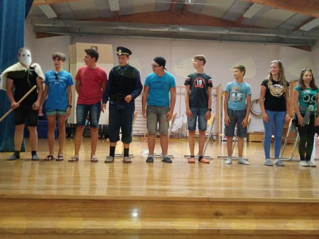 Angleški tabor v borovniški šoli