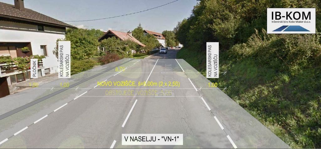 Sodobna kolesarska povezava med Borovnico in Pakim