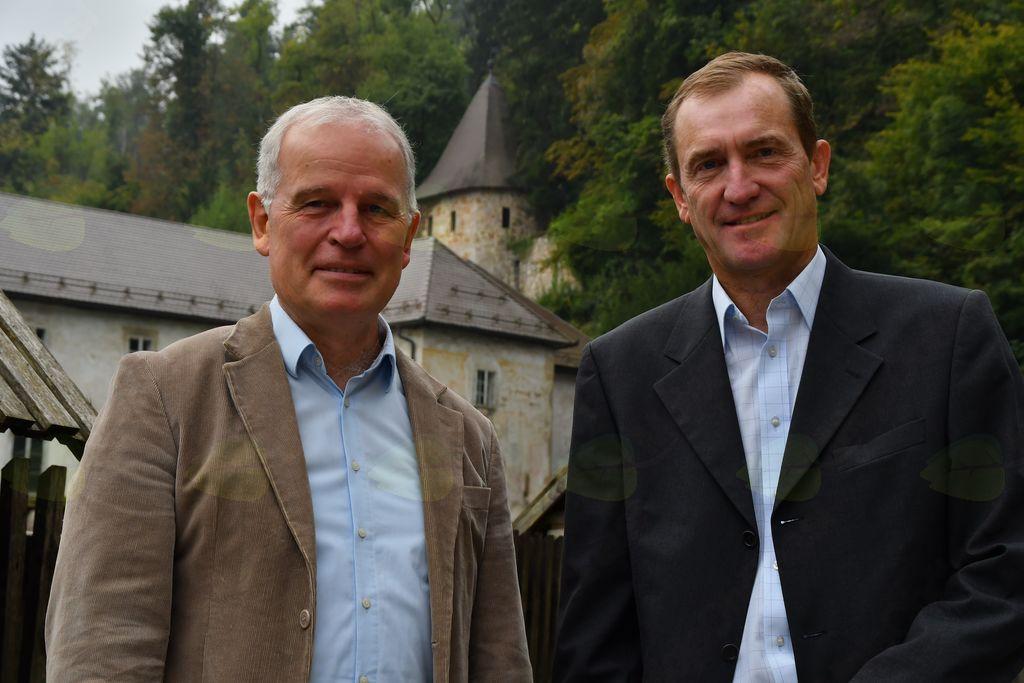 Viktor Slacič in Grega Kukec