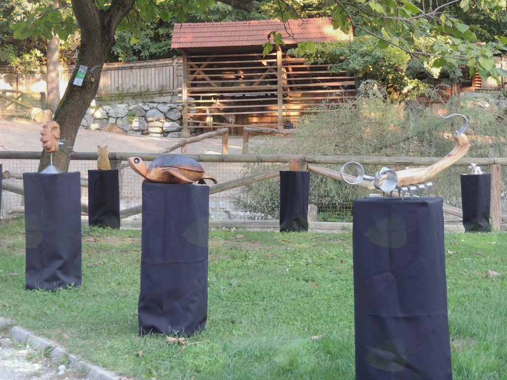 Zverinice na obisku v živalskem vrtu
