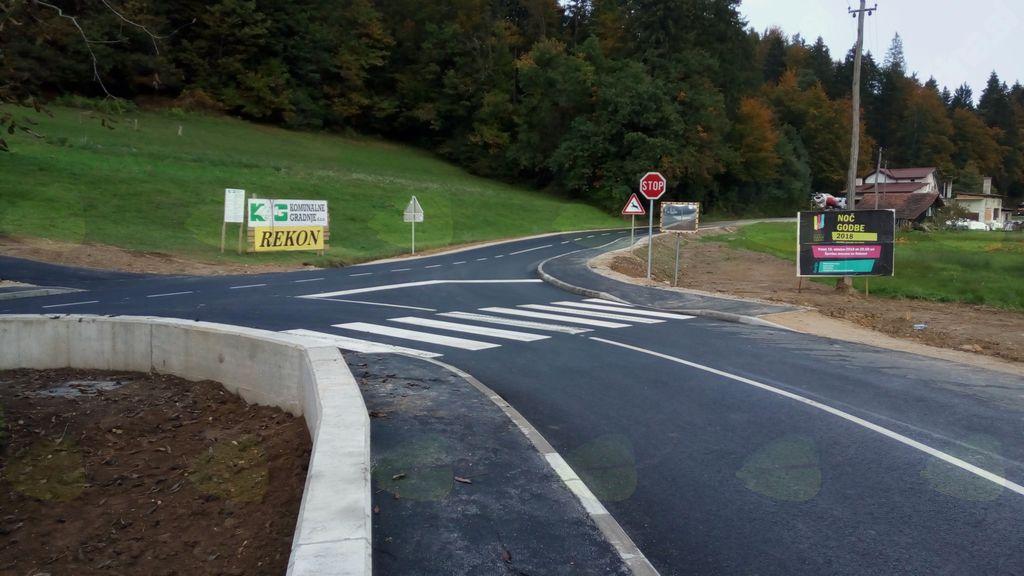 Spremenjena prometna ureditev v Stranski vasi