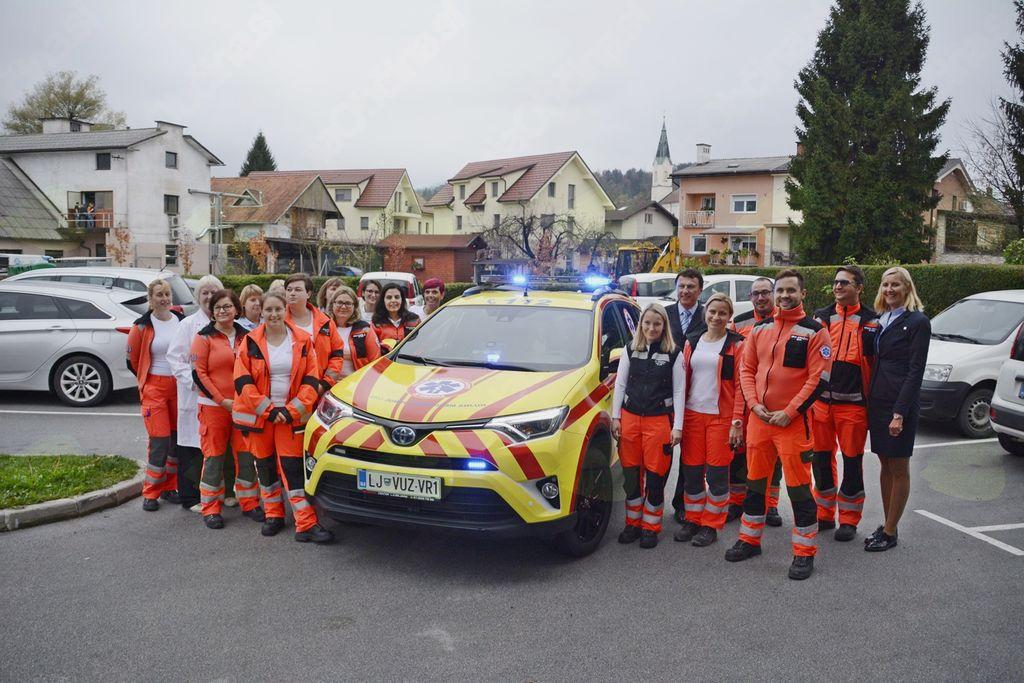 Novo vozilo za reševalce